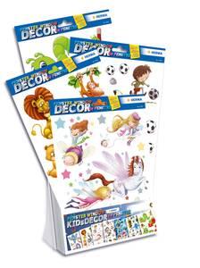 Bilde av Display Vindusdekor Barn, 7 motiver, 35 pakninger