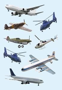 Bilde av DECOR Stickers fly, papir, 3 ark (10 pakk)