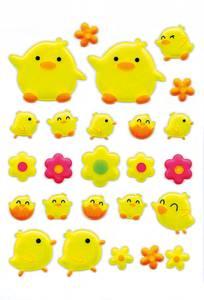 Bilde av MAGIC Stickers Kylling, gjennomsiktig materiale 1