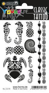 Bilde av CLASSIC Tattoos Black Art Caribbean 10 motiver 1