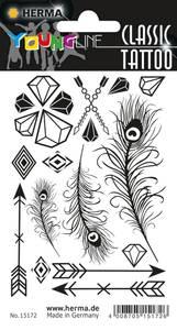 Bilde av CLASSIC Tattoos Black Art Diamanter 15 motiver 1
