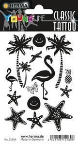 Bilde av CLASSIC Tattoos Black Art, Strand, 14 motiver, 1