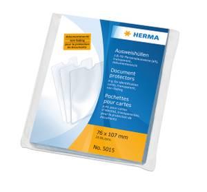 Bilde av HERMA plastlommer i klar plast 76x107 mm (25 stk)
