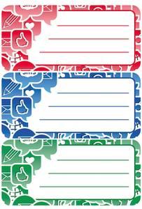 Bilde av VARIO boketiketter Social Icons, 3 ark (10 pakk)