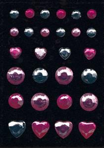 Bilde av GLAM ROCKS stickers Diamant, 1 ark (10 pakk)