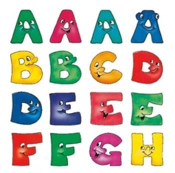Bilde av Tall og bokstaver