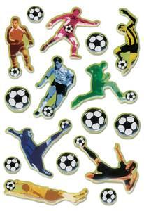 Bilde av MAGIC Stickers Fotballspillere, plastmateriale, 1