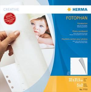 Bilde av HERMA fotokartong 320x315 mm, sulfatfritt, hvit 5
