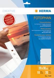 Bilde av Fotophan fotolommer 20x30 portrait, 2 fotos/ark,