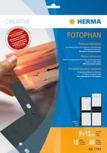 Bilde av Fotophan fotolommer 9x13 cm portrait svart 8