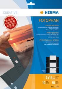 Bilde av Fotophan fotolommer 9x13 cm tvers svart, 6
