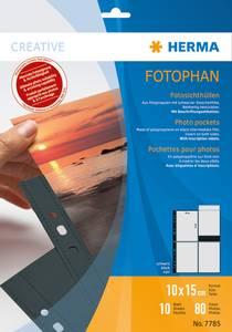 Bilde av Fotophan fotolommer 10x15 cm portrait svart, 8