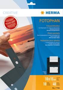 Bilde av Fotophan fotolommer 10x15 cm tvers svart, 4