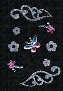 Bilde av GLAM ROCKS stickers Vinger, 1 ark (10 pakk)