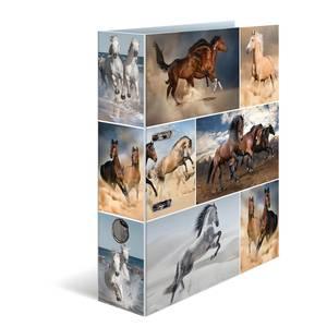 Bilde av HERMA ringperm i kartong, Hester (10 pakk)