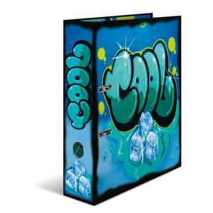 Bilde av HERMA ringperm i kartong, Graffiti Cool (10 pakk)