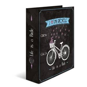 Bilde av HERMA ringperm i kartong, Shabby Chic Bicycle (10