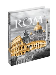 Bilde av HERMA smal ringperm i plastmateriale, A4, Roma (3