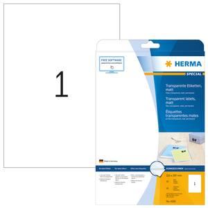 Bilde av SPECIAL transparente etiketter, 10 ark, A4,