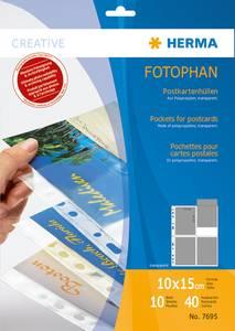 Bilde av Lommer til postkort 10x15 cm, til 4 postkort, 10