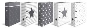Bilde av Sortiment Stars, HERMA ringpermer i kartong, A4,
