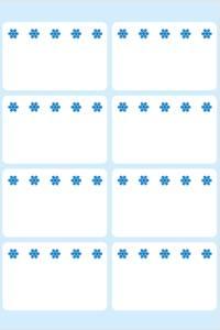 Bilde av VARIO fryseetiketter hvit 26x40, 56 stk (10 pakk)