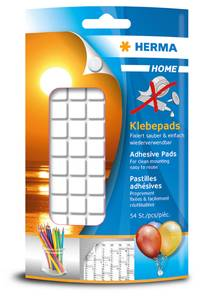 Bilde av HERMA festemasse Adhesive Pads, 1 pakke (54 stk)