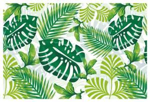 Bilde av Bordbrikker i plast, 45 x 30 cm, Tropical (4 stk)