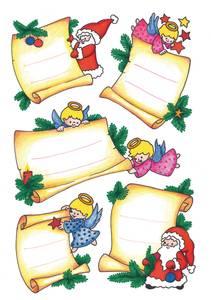 Bilde av DECOR Stickers etikett fra til julemotiv glitter