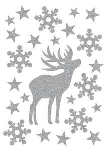 Bilde av MAGIC Stickers Hjort, glitter, 1 ark (10 pakk)