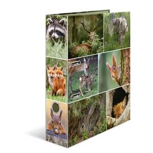 Bilde av HERMA ringperm i kartong, Skogsdyr (10 pakk)