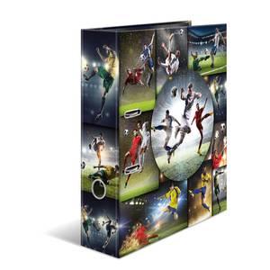 Bilde av HERMA ringperm i kartong, A4, Fotball (10 pakk)