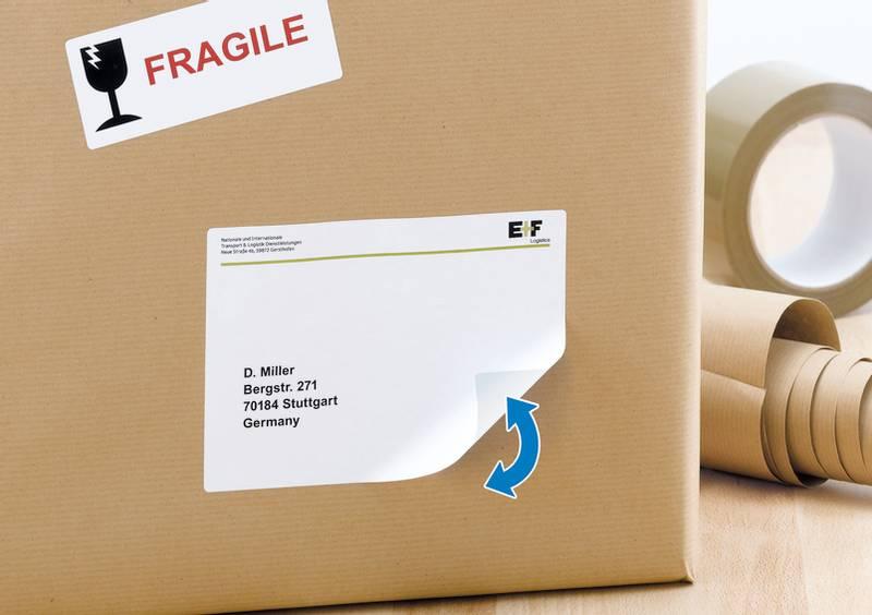 MOVABLES adresseetiketter avtagbar, 100 ark 99.1x139.0 (400 stk)