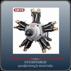 Bilde av SAITO FA-325R5D 53,3cc 4-takts 5-cyl Stjernemotor