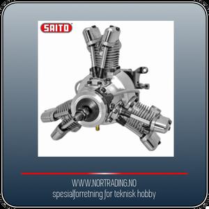 Bilde av SAITO FG-19R3 19cc 4-takts 3-cyl Stjernemotor