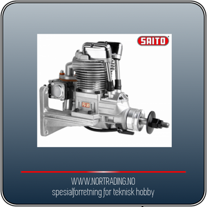 Bilde av SAITO FG-30B 30cc 4-takts Bensinmotor
