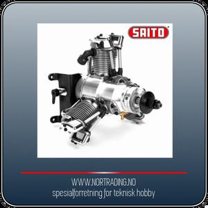 Bilde av SAITO FG-33R3 33cc 4-takts 3-cyl Stjernemotor