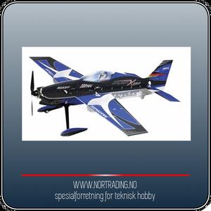 Bilde av MULTIPLEX SLICK X360 4D INDOOR EDITION BLUE (KIT)