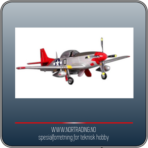 Bilde av FMS MUSTANG P-51D V8 (144cm)
