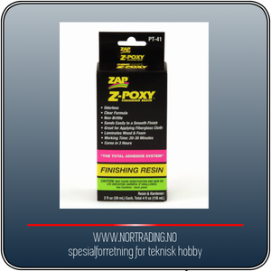 Bilde av Z-POXY FINISHING RESIN 118 ml ¤