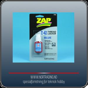 Bilde av ZAP THREAD LOCKER Z-42 (BLUE) 0.2OZ (6) PT42 ¤