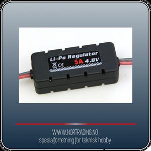 Bilde av LI-PO REGULATOR 4.8 VOLT (5 AMP) ¤