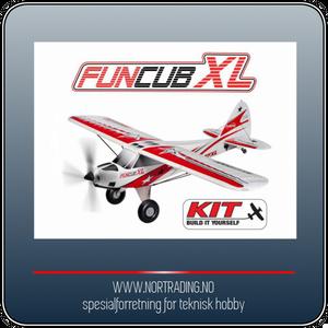Bilde av MULTIPLEX FUNCUB XL (KIT)