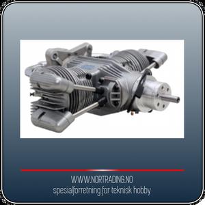 Bilde av SAITO FG-100TS 100cc 4-takts Twin Bensinmotor