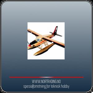 Bilde av SEAGULL FLOAT SET DHC-2 TURBINE BEAVER (SEA-268)