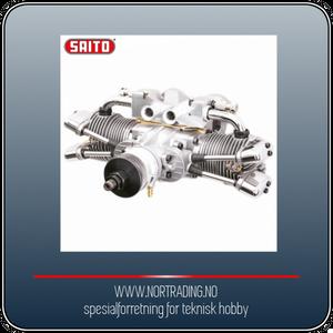 Bilde av SAITO FA-182TD 30cc Twin 4-takts Metanolmotor