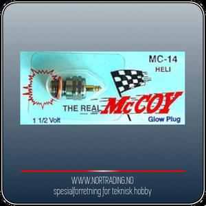 Bilde av MC COY 14 GLOW PLUG FOR HELICOPTER ¤