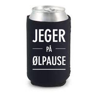 Bilde av Jeger på ølpause