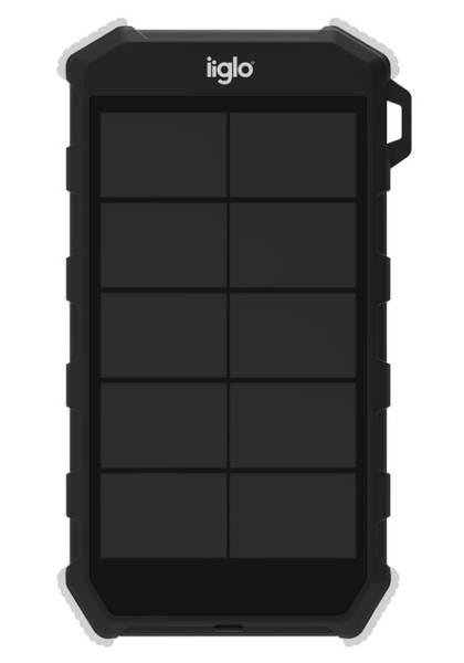 iiglo Solar powerbank 20000mAh