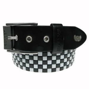 Bilde av Belte - 5 rader sort/hvit sjakkrutet